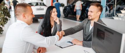 Podpis smlouvy o dovozu vozidla