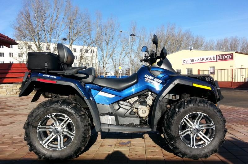 Čtyřkolka BOMBARDIER 800 ATV OUTLANDER MAX 800 LTD